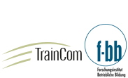 Logos: TrainCom, f-bb